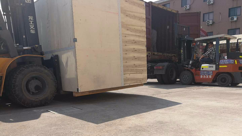 欧洲某医药公司订购的6台ZLB系列组合式转轮除湿机组发货