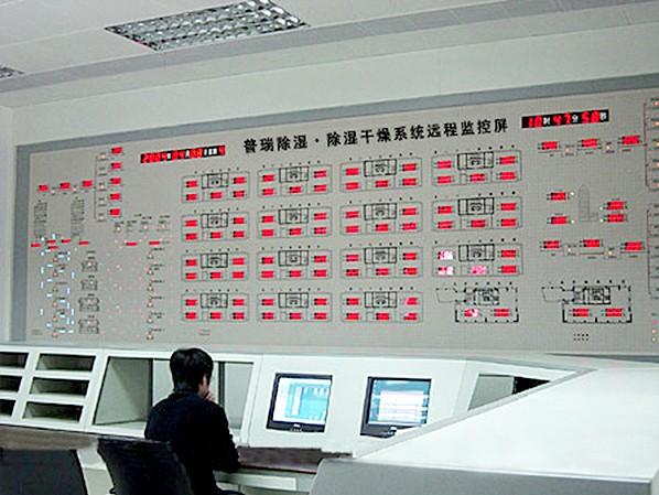 普瑞泰中央控制室