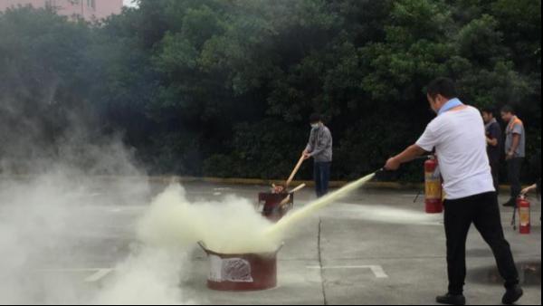 普瑞泰-组织开展消防安全演习